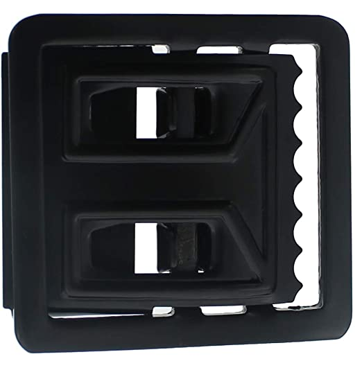 Image Unavailable. Image not available for. Color  Black Open Face Web Belt  Buckle ... 27ded25d799