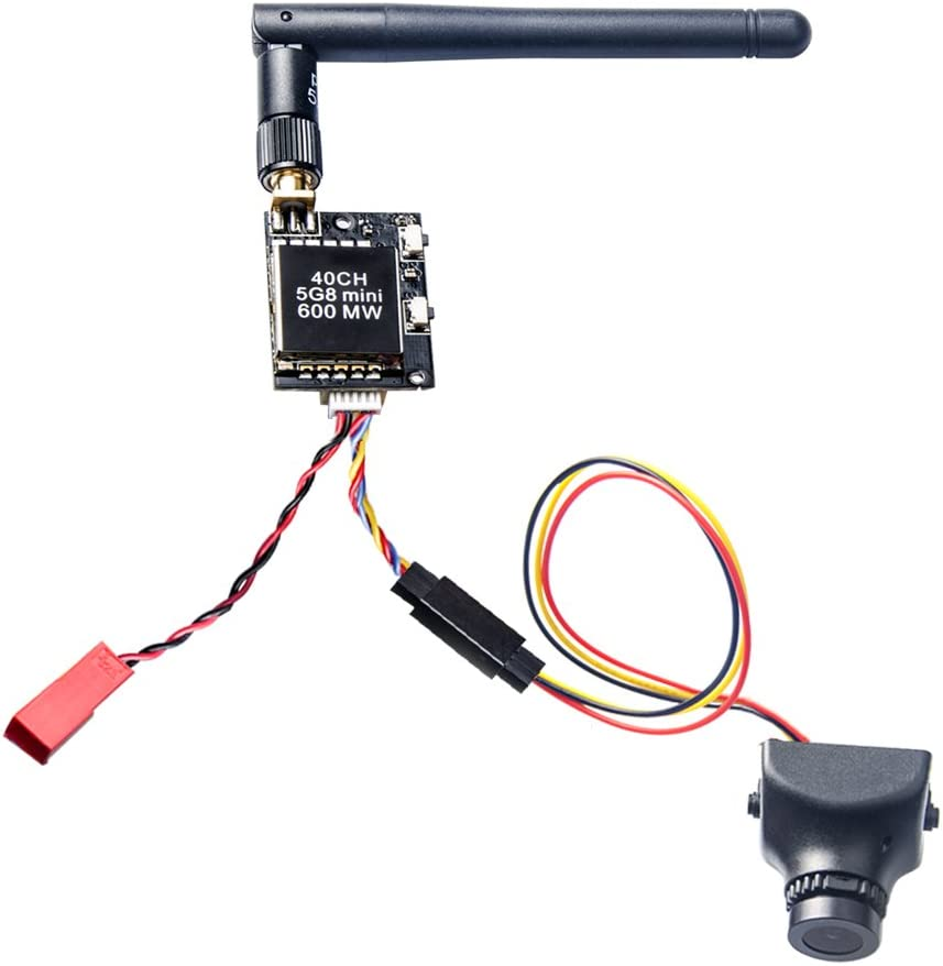 AKK KC04 5.8G 600mW FPV Transmitter 700TVL 2.8mm 120 Degree FPV Camera for Racing Quadcopter