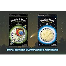 Set of 30 Glow-In-The Dark Planets and Stars