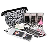ANMAS RUCCI 19in1 Eyelash Extension Kits Micro Brushes Glue Lash Pallet Under Eye