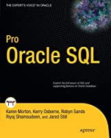 Pro Oracle SQL Front Cover