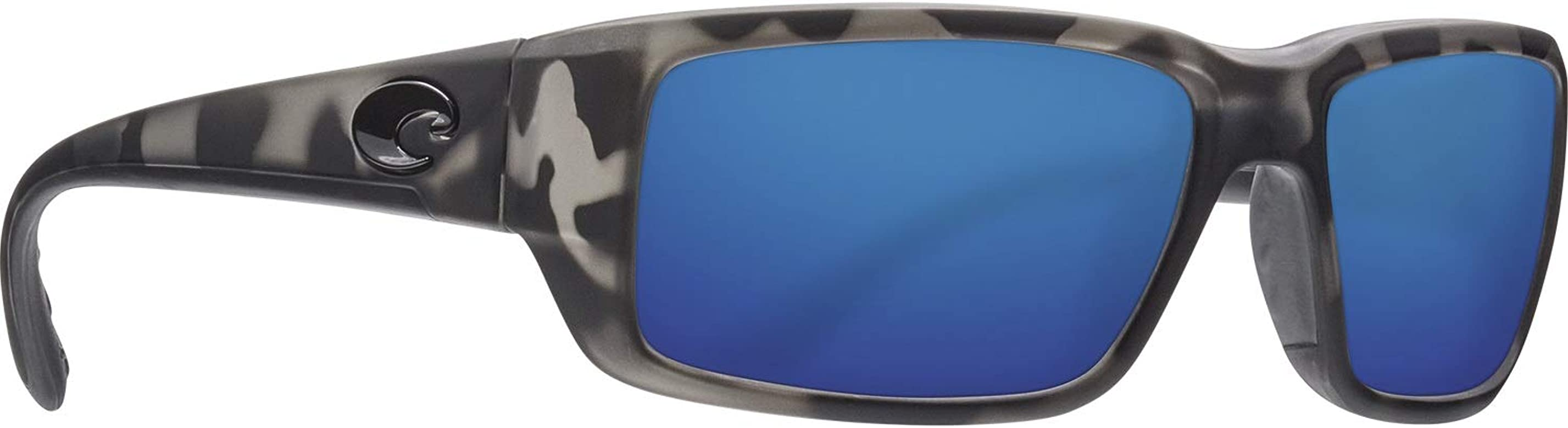 Costa Del Mar Fantail Blackout Frame Blue Mirror 580G Glass Polarized Lens