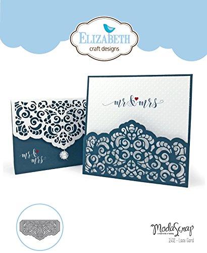 Elizabeth Craft Designs Lace Card Metal Die Ecd1502