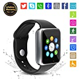 Bluetooth Smart Watch - WJPILIS Touch Screen Smartwatch Smart Wrist Watch Phone Fitness