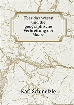 Book Über das Wesen und die geographische Verbreitung der Maare