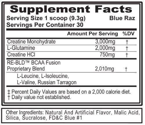 Evlution Nutrition Re Build Supplement, Watermelon, 11.4 Ounce