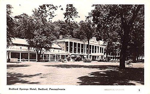 (Bedford Springs Hotel Bedford, Pennsylvania postcard)
