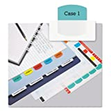 Redi-Tag Laser Printable Index Tabs, 1 1/8 Inch, Five Colors, 100/Pack