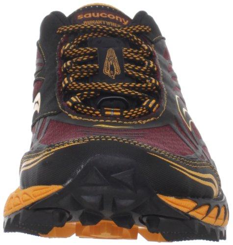 Saucony Mens ProGrid Peregrine 2 Trail Running Shoe Red / Orange