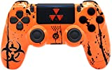 Cheap Toxic Orange Custom PS4 Rapid Fire Custom Modded Controller 40 Mods for All Major Shooter Games, Auto Aim, Quick Scope, Sniper Breath, Jump Shot, Active Reload & More (CUH-ZCT2)