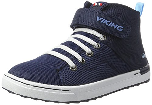 501 Bleu Viking Frogner Enfant White Mixte Mid Baskets Navy Hautes q7azq
