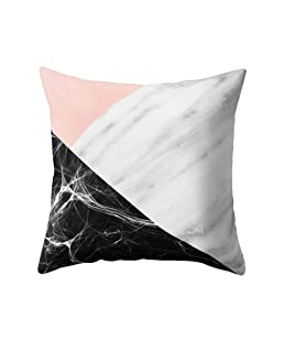 wintefei Modern Living Room Decoration Abstract Square Pillow Case Cushion Cover -7#