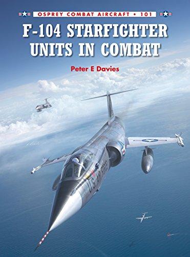 (F-104 Starfighter Units in Combat (Combat Aircraft Book 101))
