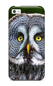 TashaEliseSawyer Owl Durable Iphone 5c Tpu Flexible Soft Case