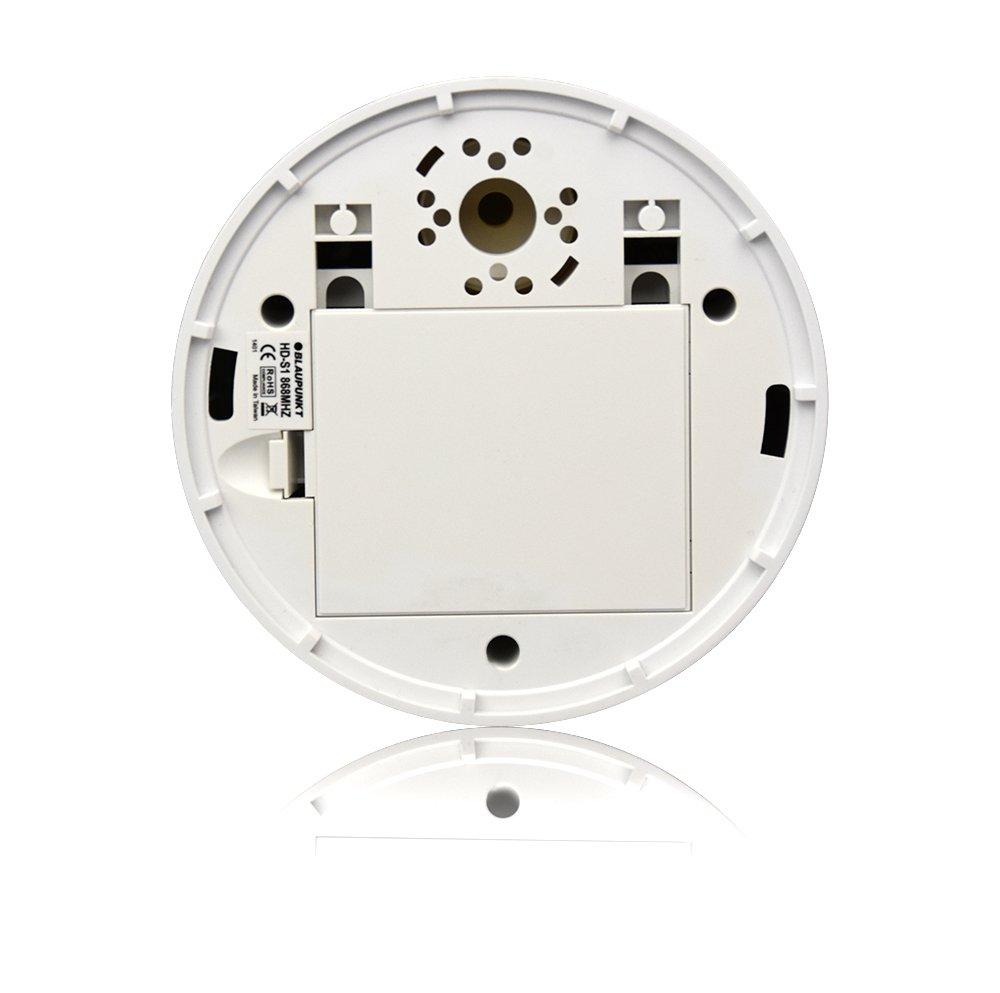 Movimiento Blaupunkt Security MD-S1 Sensor de Humo Calor Temperatura con Sirena integrada