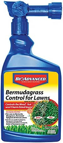BioAdvanced 704100B Bermudagrass Control for Lawns Weed Killer Ready-to-Spray, 32-Ounce