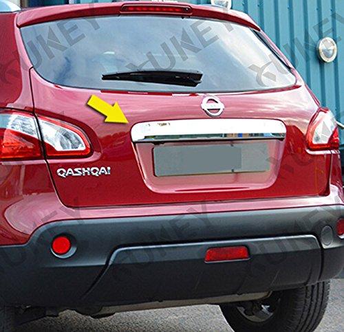 Modanatura Cromata Nissan Qashqai antiscivolo Portatarga Modifycar