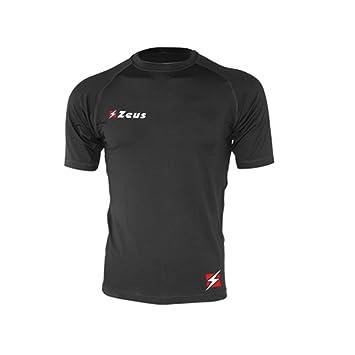 Zeus Maglia Fisiko Manica Corta Camiseta Manga Corta Entrenamiento Chándal de Fútbol Sala para Hombre Pegashop