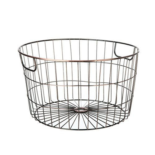 C Y TOP LTD Mainstays Wire Basket (Antique Copper)