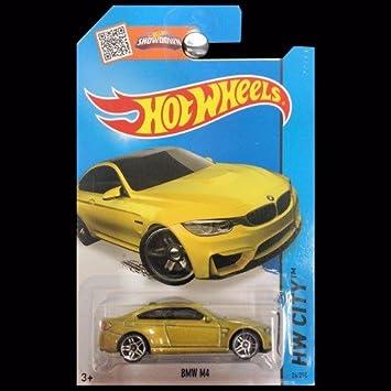Hot Wheels Bmw M4 Senfgelb 24 250 Amazon De Spielzeug