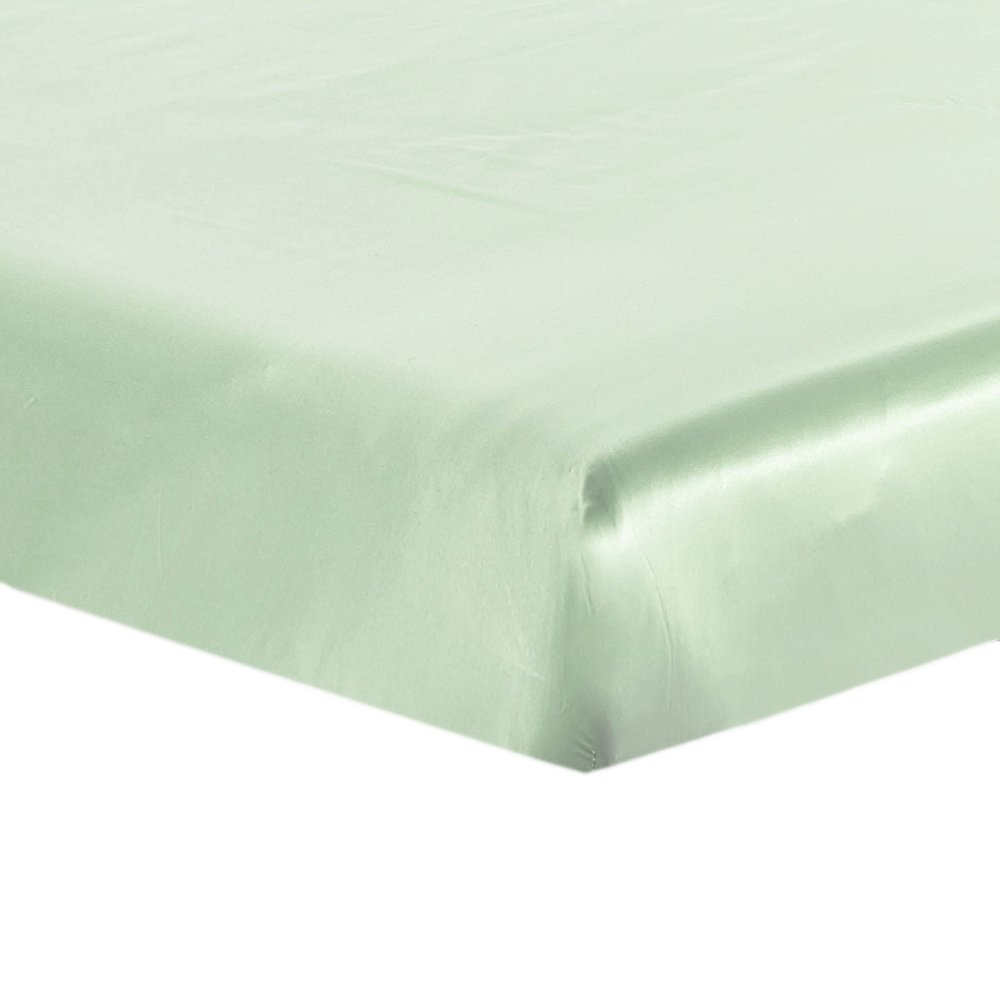 Lilysilk Natural Silk Fitted Sheet Only 19 Momme Seamless, Twin, Gold 1004-07-USTW