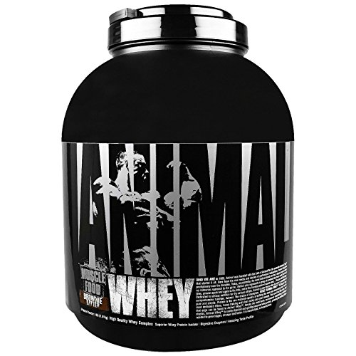- Universal Nutrition Animal Whey Isolate Loaded Whey Protein Powder Supplement, Brownie Batter, 4 Pound