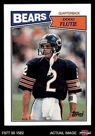 Amazon com: 1987 Topps # 45 Doug Flutie Chicago Bears