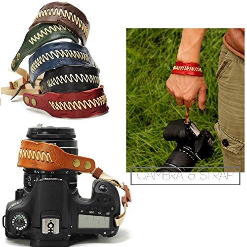 Nicad Camera Leather Wrist Strap