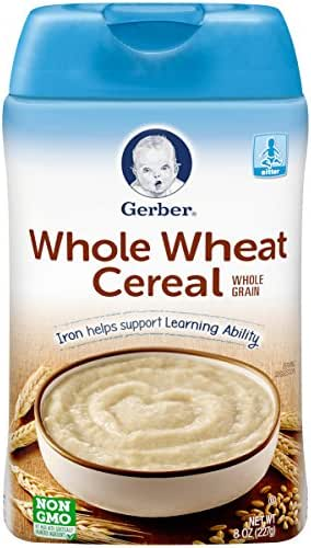 Gerber Baby Cereal, Whole Wheat, 8 Ounce