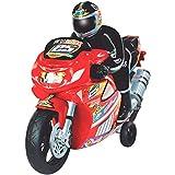 Moto Racer Movida a Fricção com Som Lider Brinquedos Vermelha