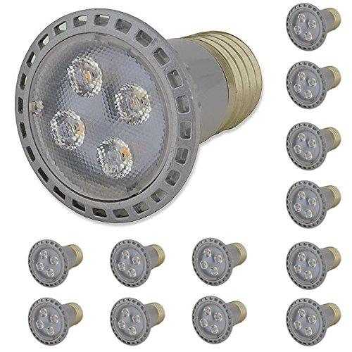 (LEDwholesalers Dimmable PAR16 LED 5 Watt Narrow Spot 30 E26 Base Light Bulb, Warm White, 1351WW)