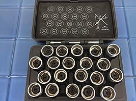 TEMO #42 Wheel Lock Lugnut Anti-theft Nut Screw Removal Socket Key S3055 for BMW