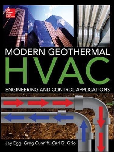 Modern Geothermal HVAC Engineering and Control Applications (Best Geothermal Heat Pump Brand)