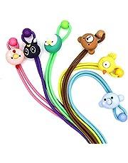 Ntharen 6Pcs Lanyards for Kids Face Mask | Cute Cartoons Face Mask Holder and Strap for Kids | Face Mask Hanger for Boys and Girls