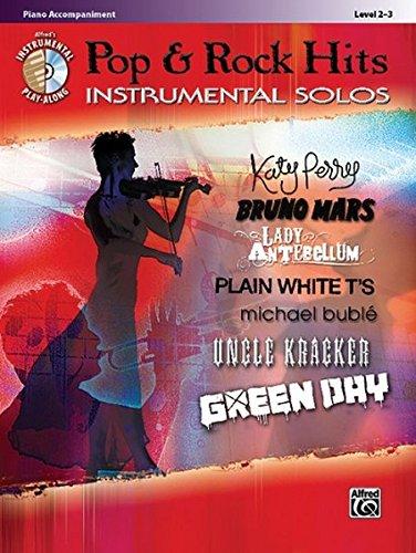 Pop & Rock Hits Instrumental Solos: Piano Acc., Book & CD (Pop Instrumental Solo Series)