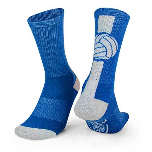 mizuno volleyball runbird crew socks 80
