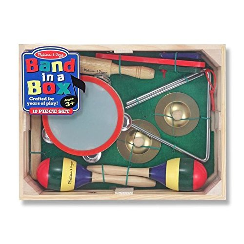 Band in a Box Music Toy, by Melissa & Doug