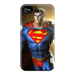 MansourMurray Iphone 6 Shock Absorbent Cell-phone Hard Covers Customized Realistic Superman Image [rYM10340EdAA]