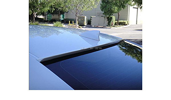 Black Color JR2 Painted For 2014-2018 MAZDA 3 Sedan-Rear Window Roof Spoiler