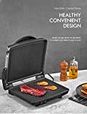 Panini Press Grill, Yabano Gourmet Sandwich Maker