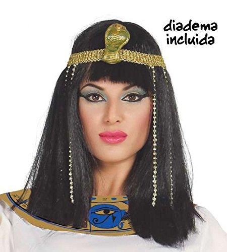 Guirca Egyptian Princess Wig and Headpiece]()