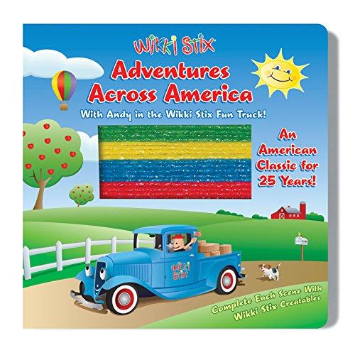 Wikki Stix Adventures Across America Interactive Board Book