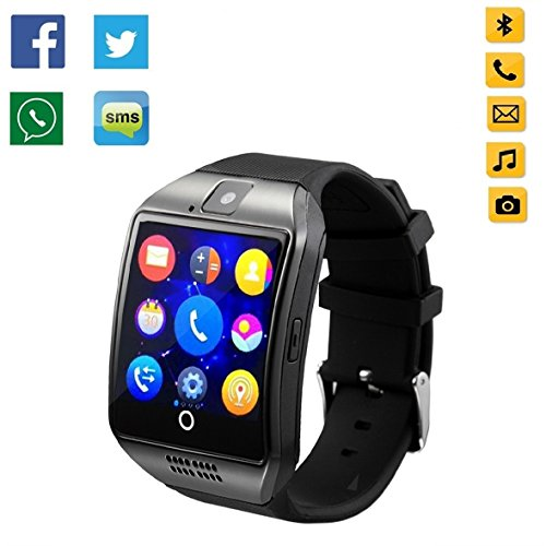 OURSPOP 2.5D Radian Bluetooth Smart WristWatch,