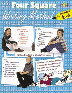 Milliken Activity Four - Four Square Writing Method Grades 4-6 With Cd