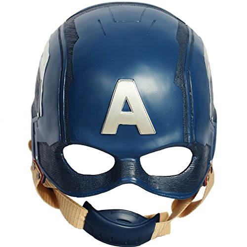 Captain America Civil War Helmet Movie Steven Mask Halloween Cosplay Props for Adult