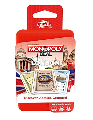 """Shuffle 100232004 """"Monopoly Deal Cities London Game"""