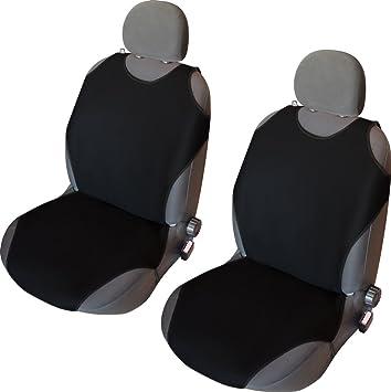 Schonbezüge Baumwoll Universell Sitzbezüge SHIRT Schwarz Daihatsu Cuore