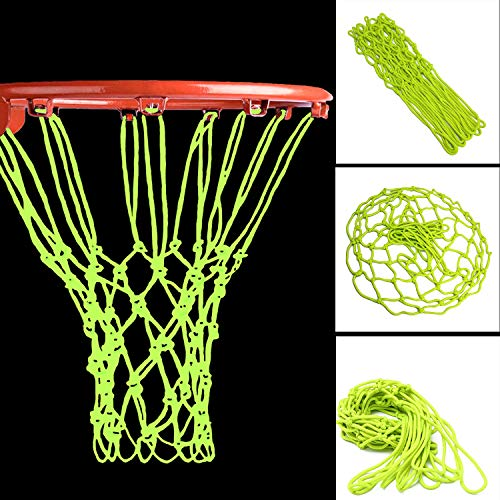 Besmon Nightlight Basketball Net Luminous Outdoor Portable...