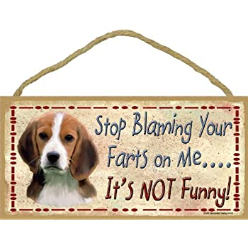 Amazoncom Blackwater Trading Rottweiler Stop Blaming Your Farts On