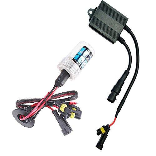 Sixty61 Suzuki Boulevard M109 Xenon HID headlight conversion single bulb kit for High/Low Beam (8000K - Iceberg Blue)
